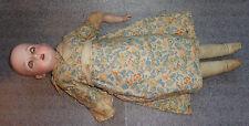 fine antique German bisque head sleep eye  doll