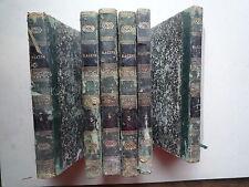 1844 OEUVRES COMPLETES DE J. RACINE ELOGE DE LA HARPE NOUVELLE EDITION 6 VOLUMES