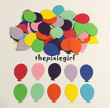 MARTHA STEWART BALLOON PAPER PUNCHES 100 DIE CUTS PUNCHIES MIXED COLORS