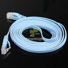 3M RJ45 CAT7 10Gbps Thin Flat Fiber Optic Network Flat Cable Wire Durable