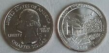 USA Quarter America the Beautiful - Great Smoky Mountains S 2014 unz.