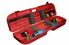 MTM Ice Fishing Rod Box Tackle Tip Ups Case 8 Rods Storage Fish Lockable NEW