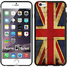 British Flag Union Jack Grunge For Iphone 6 Plus 5.5 Inch Case Cover