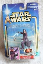 Star Wars Attack of the Clones AOTC ZAM WESELL 18 BOUNTY HUNTER 3.75 Collection1