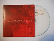 MAXIME LE FORESTIER : RESTONS AMANTS [ CD SINGLE PORT GRATUIT ]