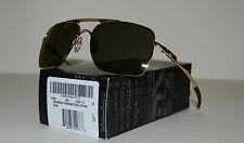 NEW Oakley Deviation Sunglasses Polished Gold w/ Dark Grey Lens 004061-02