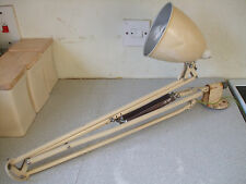 VINTAGE INDUSTRIAL / WALL/ HOSPITAL- HERBERT TERRY - THE ANGLEPOISE - LAMP - L83
