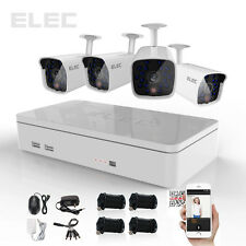 ELEC 4CH 960H HDMI DVR 1500TVL Outdoor CCTV Video Home Security Camera System