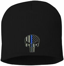 CPD Memorial Foundation Punisher Knit Hat Skull