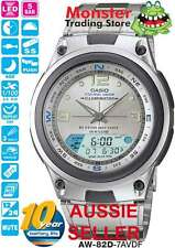 AUSSIE SELLER CASIO FISHING TIME AW82 AW-82 AW-82D-7AV AW82D MOON AGE  WARRANTY