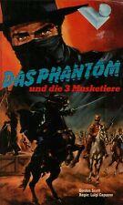 VHS** Das Phantom und die 3 Musketiere - Gordon Scott -
