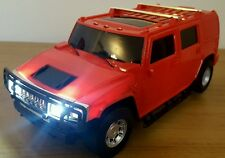 HUMMER SUV MONSTER TRUCK RADIO REMOTE CONTROL CAR 1:16 FAST SPEED -25CM  RED