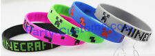 5 pack of Minecraft Silicone bracelets FNAF Birthday Party Favors