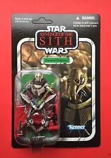 Star Wars Vintage Collection Vc17 General Grievous. Unpunched. Mint. Very Rare