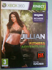 Jillian MICHAELS FITNESS ADVENTURE MICHAEL'S  RICHIEDE KINECT XBOX 360 NUOVO ITA