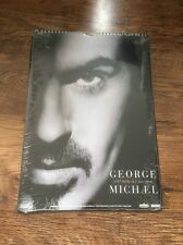❣RARE❣SEALED & MINT OFFICIAL 1997 CALENDAR Older~George Michael (Wham!)
