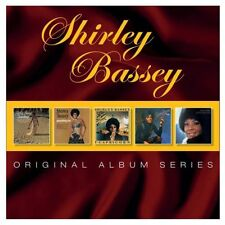 SHIRLEY BASSEY 5CD NEW Something/Else/I Capricorn/And I Love You So/Never Never