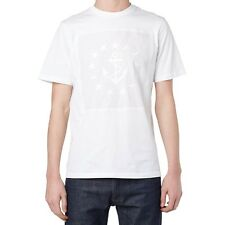Authentic OAMC Maritime Star Anchor Embroidered T-Shirt White Supreme Size Large