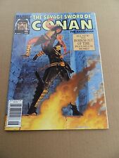 Savage Sword of Conan 186 .  Marvel 1991 - VF- minus