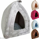 Pet Bed House Igloo Bed Cave Pyramid Dogs Cat Kitten Puppies Bed Warm Insulated