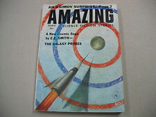"""AMAZING STORIES"" 3/59 VFN! E.E.SMITHs `GALAXY PRIMES`! ASIMOV! FINLAY ART!"