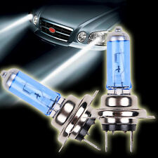 2 x H7 6000K Xenon Gas Halogen Headlight White Light Lamp Bulbs 55W 12V
