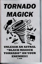 TORNADO MAGICK book S. Rob Occult black magic
