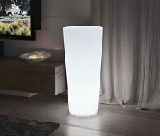VASO RESINA CONICO 70 X 31 diam. LUMINOSO Completo di KIT LUCE LED