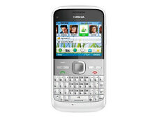 original Nokia E5 White 3G WIFI GPRS 5MP QWERTY Keyboard Unlocked free shipping