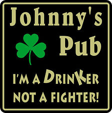 New Personalized Custom Name Irish Pub Bar Beer Home Decor Gift Plaque Sign #18