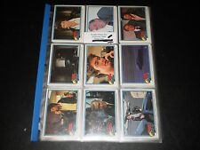 NIGHT RIDER 55 COMPLETE CARD SET 1982