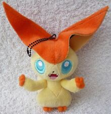 Official Banpresto Pokemon 2011 UFO MPC Victini Soft Plush Doll Toy Japan 5.5""