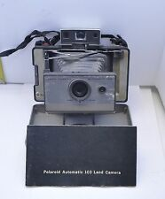 POLAROID 103 LAND CAMERA - RARE MODEL INCLUDES INSTRUCTIONS & CASE