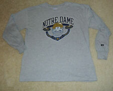 Mens RUSSELL ATHLETIC Notre Dame Fighting Irish Football Champs L/S Shirt, L