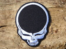 ECUSSON PATCH THERMOCOLLANT aufnaher toppa TETE DE MORT grateful dead musique
