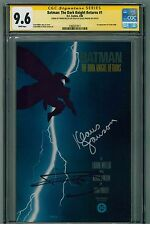 Batman: The Dark Knight Returns #1(1986) CGC 9.6 SS - Signed by Miller / Janson