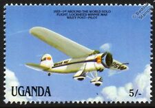 "1933 Lockheed VEGA ""Winnie Mae"" Wiley Post Round the World Aircraft Stamp"