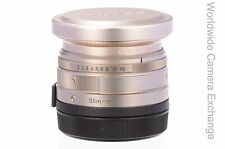 Contax 35mm f2 Planar with hood and filter, G1/G2, MINT!