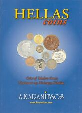 GREECE CATALOG FOR COINS OF MODERN GREECE (1828-2007), in GREEK-ENGLISH