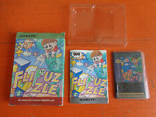 CASSETTA GAMATE LCD C1-026 GIG 1991 FLI PUZZLE SFIDA IL GIAGANTE NUOVO
