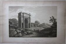 1794 TRIUMPHAL ARCH AT ORANGE IN DAUPHINY A. Beaumont Apostool Arc d'Orange