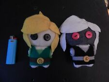 Lengend of zelda Link or dark link plushies, plush. handmade,video games, pick 1