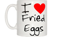 I Love Heart Fried Eggs Mug
