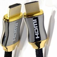 PREMIUM HDMI Cable v2.0 High Speed 4K UltraHD 2160p 3D Lead 1M/2M/3M/ - 5M Metre