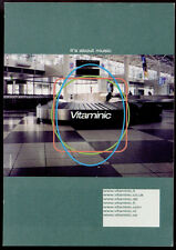 cartolina pubblicitaria PROMOCARD n.1532 VITAMINIC MUSIC COMMUNITY