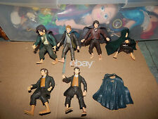 Lord Of The Rings Lot of 6 Hobbits Action Figures   HTF
