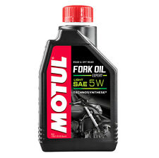 MOTUL gabelöl FORK OIL EXPERT LIGHT SAE 5w sintetico + ROAD OFF ROAD