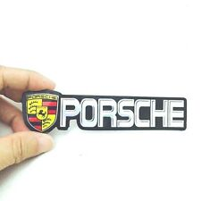 PORSCHE EMBLEM STICKER LOGO 128 MM MADE OF THIN FOIL