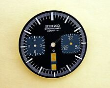 NEW SEIKO BLACK DIAL 6138-0040, 6138 0049 BLACK BULLHEAD WATCH NR-055