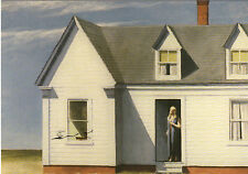 Kunstpostkarte - Edward Hopper: High Noon  /  Mittag
